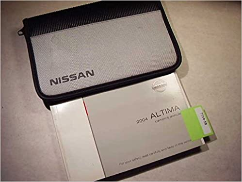 2004 nissan altima owners manual nissan amazon books fandeluxe Choice Image