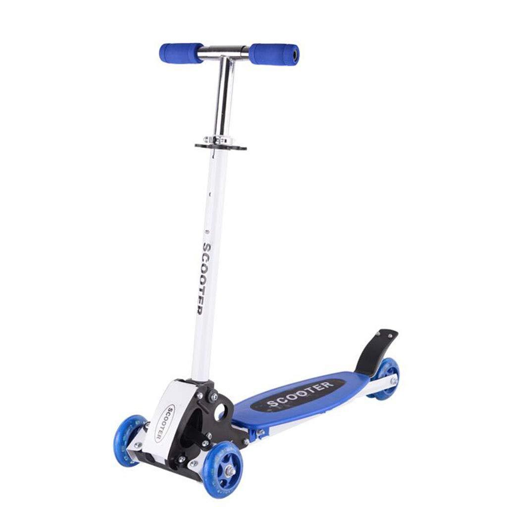 子ども用自転車 子供用スクーター屋内用キックスクーター屋外用子供用自転車男の子女の子用スクーター折りたたみ式ブルースクーター (Color : Blue, Size : 97cm*31cm*79cm) 97cm*31cm*79cm Blue B07MPPR92V