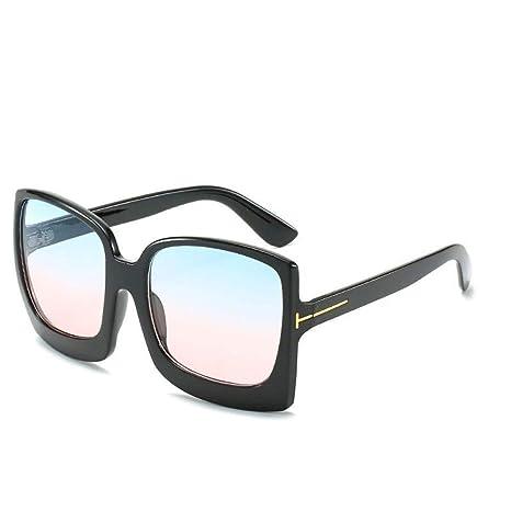 Yangjing-hl Modelos de Marea Gafas de Sol de Caja Grande ...