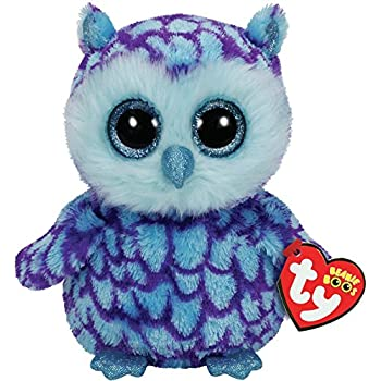 Ty Beanie Boos Plush - Oscar the Owl 15cm