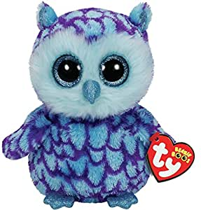 TY Beanie Boo Plush - Oscar the Owl 15cm