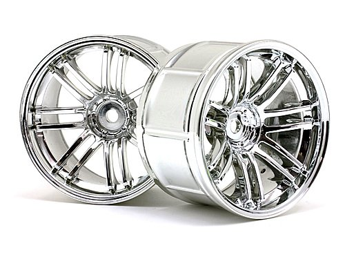 - HPI Racing 3342 LP35 RE30 Wheel Rays Volk Racing, Chrome (2)