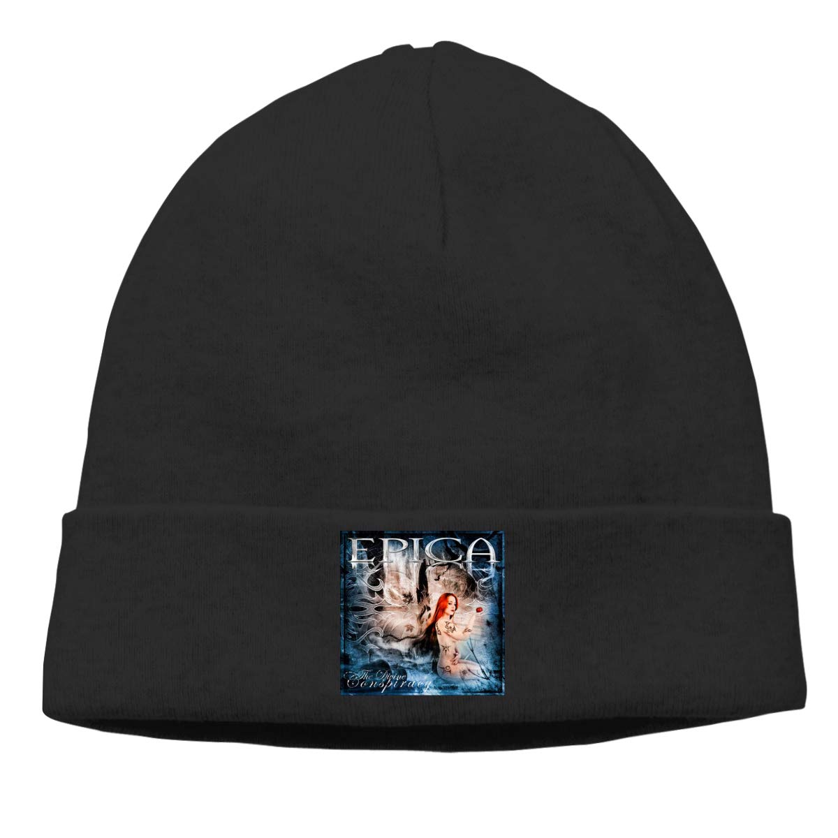 ba633a6c771 MUtang Epica The Divine Conspiracy Skull Hats Knitted Cap Beanie Black at  Amazon Men s Clothing store