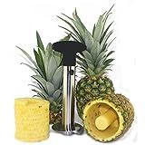 Stainless Steel Pineapple Slicer/Peeler/Corer,LeJihomeca Pineapple Cutter, Pineapple Peeling Machine, Fruit Peeling Knife, Kitchen Gadget
