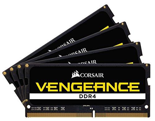 Corsair Vengeance SODIMM 32GB (4x8GB) DDR4-4000 (PC4-32000) CL19 for Intel X299 Systems - CMSX32GX4M4X4000C19