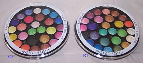 Cosmetics 27 Color Pearl Eye Shadow Palette # 1 & 2 by Profusion (CosF334A Z) (Best Options Trading Newsletter)