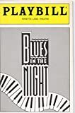 img - for BLUES in the NIGHT Playbill for the Original Off-Broadway Production - Minetta Lane Theatre - October 1988 book / textbook / text book