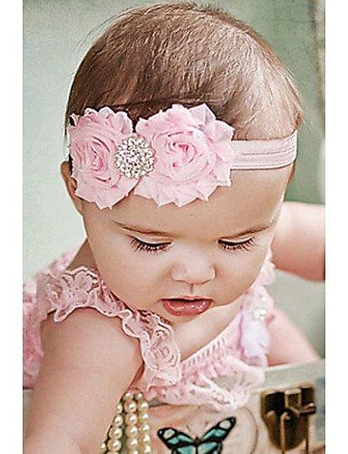 Lin @ G Shabby diadema Shabby Chic diadema diadema bebé para recién ...