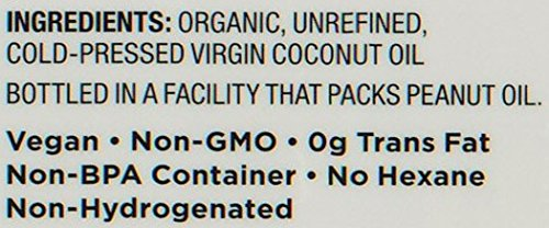Nutiva Organic, Cold-Pressed, Unrefined, Virgin Coconut Oil from Fresh, non-GMO, Sustainably Farmed Coconuts, 15-ounce (Pack of 2) by Nutiva (Image #2)