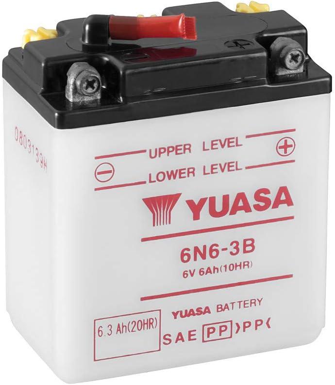 Yuasa Batterie 6n6 3b Offen Ohne Saeure Auto