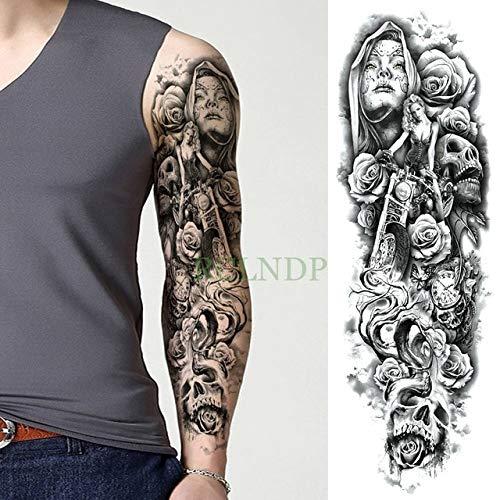 tzxdbh 3Pcs-Etiqueta engomada del Tatuaje a Prueba de Agua León ...
