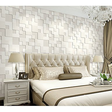 GENERIC 3D Wallpaper For Home Contemporary Wall Covering Non Woven Fabric Material Adhesive Required