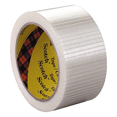 Scotch 8959 Bi-Directional Filament Tape, 50mm x 50m, 3