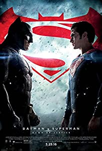 BATMAN V SUPERMAN: DAWN OF JUSTICE Original Movie Poster 27x40 - Final - DS - Ben Affleck - Henry Cavill - Amy Adams - Jesse Eisenberg at Gotham City Store