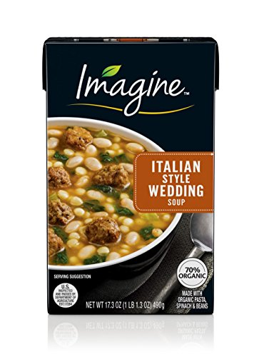 Imagine Soup, Italian Style Wedding, 17.3 Ounce (Packaging May Vary)