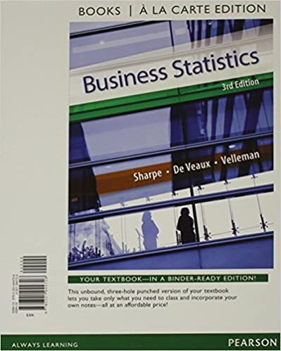 Business statistics student value edition 3rd edition norean d business statistics student value edition 3rd edition norean d sharpe richard d de veaux paul f velleman 9780321944726 amazon books fandeluxe Choice Image