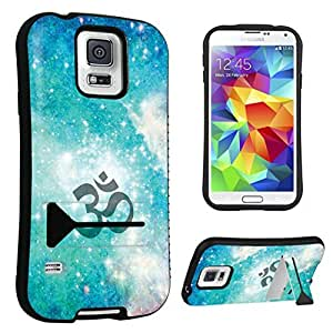 DuroCase ? Samsung Galaxy S5 Kickstand Case - (Om Symbol Yoga)