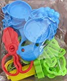 play dough 20 - Dough Cookie Clay Cutters Shapes Shapers Molds (20 Pieces) Assorted Animals & Objects