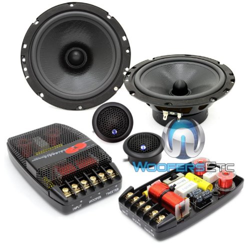 "Cl-61a-25 Pro - CDT Audio Classic 6.5"" 2-way Component Speakers"