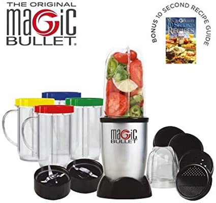 Magic Bullet procesador de alimentos de 17 piezas – El original ...