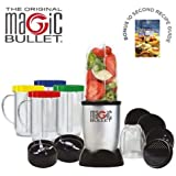 Magic Bullet 17 piece Food Processor - The Original - In 10 seconds or less Chop Mix Blend Whip Grind Mince Make Healthy Smoothies and Nutritious Desserts. As seen on TV - Over 40 million sold