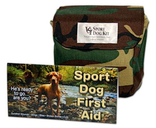 VSI Sport Dog First Aid Kit Heavy Duty Camo Travel Bag