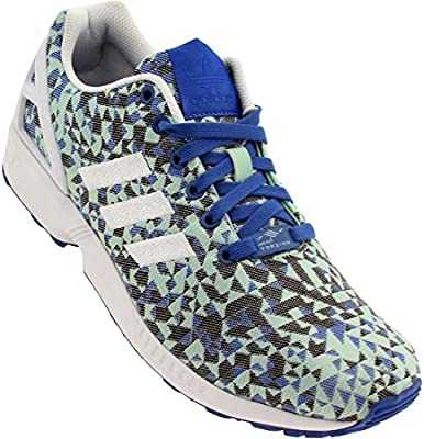 adidas Men's Zx Flvx Weave Casual Shoe 10 M US BlueWhite