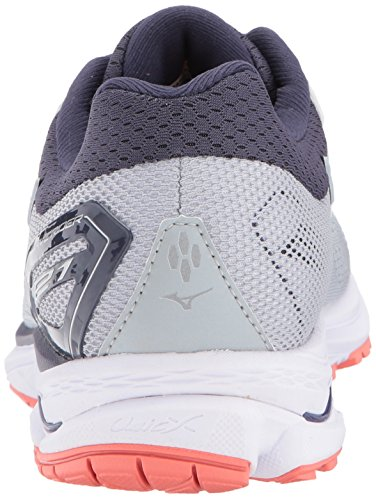 21 Stone High Running Wave Women's Mizuno Gray Rise Shoes Rider OwFxSqt