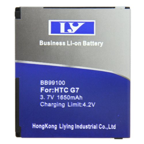 Bao Xin Brand New 1650mAh Capacity Battery for HTC G7 Extended Batter Backup