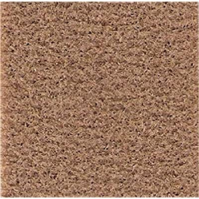 Melody Dollhouse Light Brown Self Adhesive Carpet Miniature Wall to Wall Flooring: Toys & Games