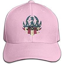YAHQI Hank Williams Jr Logo Tennis Hat Black