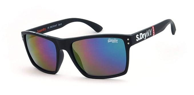 nouveau style toujours populaire nouveau style et luxe Superdry - Lunettes de soleil - Homme Noir Matte Black Large ...