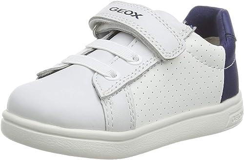Dar derechos Tropezón No complicado  Geox - sneaker b djrock boy leather and fabric - 23 - white-navy:  Amazon.com.mx: Ropa, Zapatos y Accesorios
