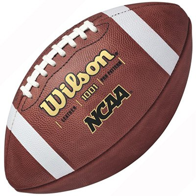 Wilson Official NCAA Game Ball 1001 Leather Football by Wilson