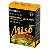 Organic White Miso Instant Soup Paste 4 x 15g - Pack of 6