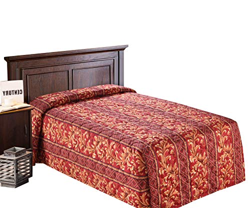 Buy Cheap Everest Supply Quilted Bedspread Designed for Hotel/Motel, Resort, Home, Over Sized 21 Fa...