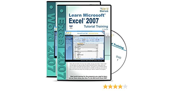 Amazon.com: Microsoft Excel 2007 Training and Microsoft Word 2007 ...