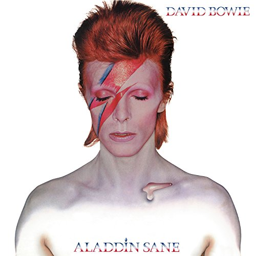 Original album cover of Aladdin Sane by David Bowie