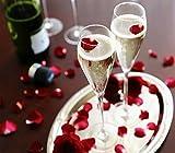 Champagne Flute Set, Crystal + Champagne Stopper