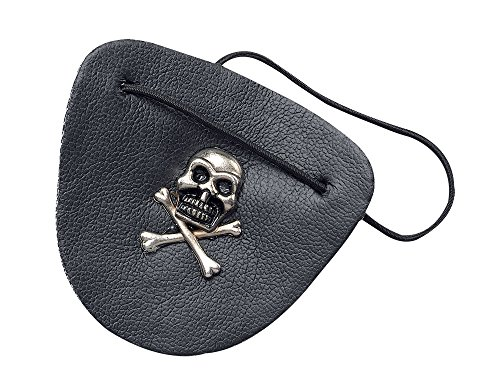 Black Leather Pirate Eye (Leather Pirate Costume)