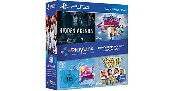 PlayLink Triple Pack PS-4 AT Wissen ist MachtHidden ...
