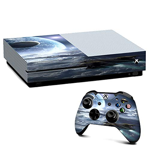 IT'S A SKIN Xbox One S Console & Controller Decal Vinyl Wrap | Galactic Spaceship Star - Galactic Starship