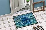 Carolines-Treasures-Blue-Crab-Under-Water-Doormat-18-H-x-27-W-Multicolor