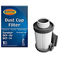EnviroCare Replacement Vacuum Dust Cup Filter for Eureka Style DCF-10/DCF-14 Uprights