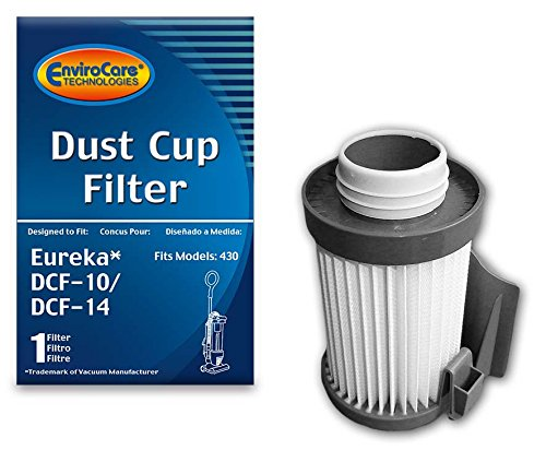 - EnviroCare Replacement Vacuum Dust Cup Filter for Eureka Style DCF-10/DCF-14 Uprights