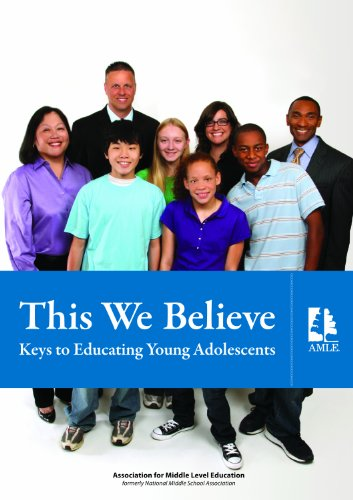This We Believe:Keys.. Educ.Young Adol.