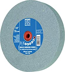PFERD 61796 Bench Grinding Wheel, Silico...