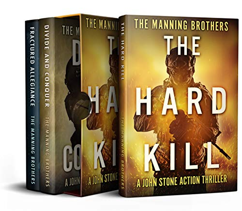 The John Stone Action Pack: Books 1-3: Military Action Thriller Series (The John Stone Collected Trilogy Book 1) by [Manning, Allen, Manning, Brian]