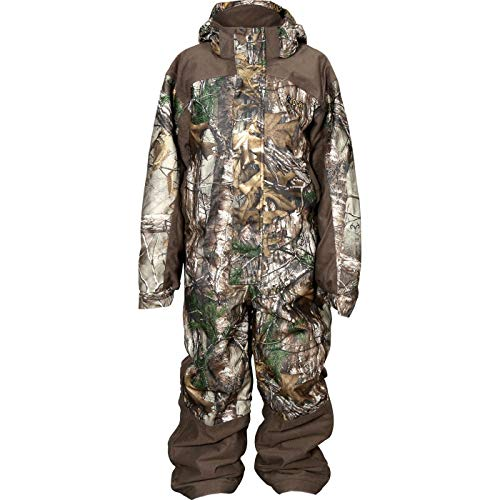 Rocky Junior Prohunter Youth Waterproof Camo Coverall, Realtree Extra Camouflage, - Clothes Hunting Youth