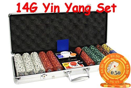 Yin Yang Poker Chips - 9